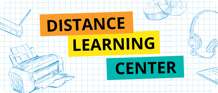 Distance Learning Center graphic