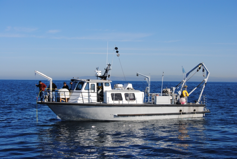 Public Utilities ocean monitoring vessel