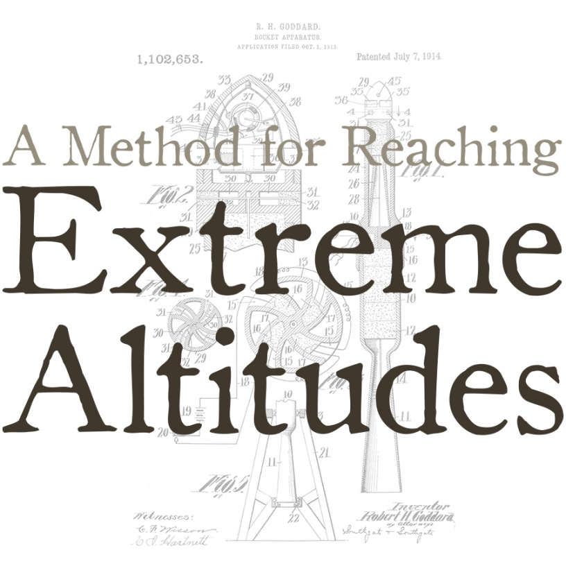 Methods for Reaching Extreme Altitudes exhibit graphic
