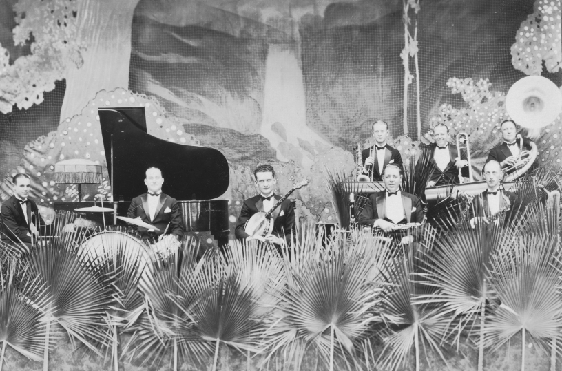1925 Mission Beach Dance Hall Tuxedo Orchestra