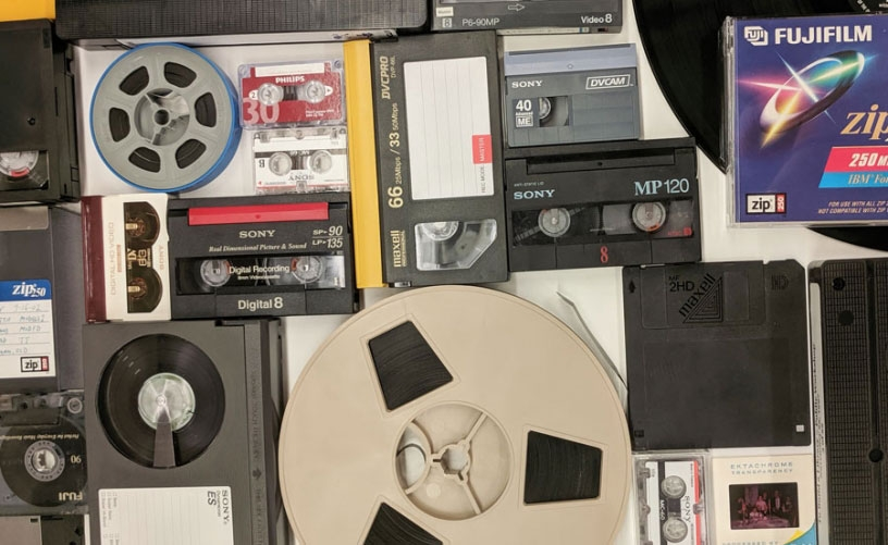 Photo of various analog formats
