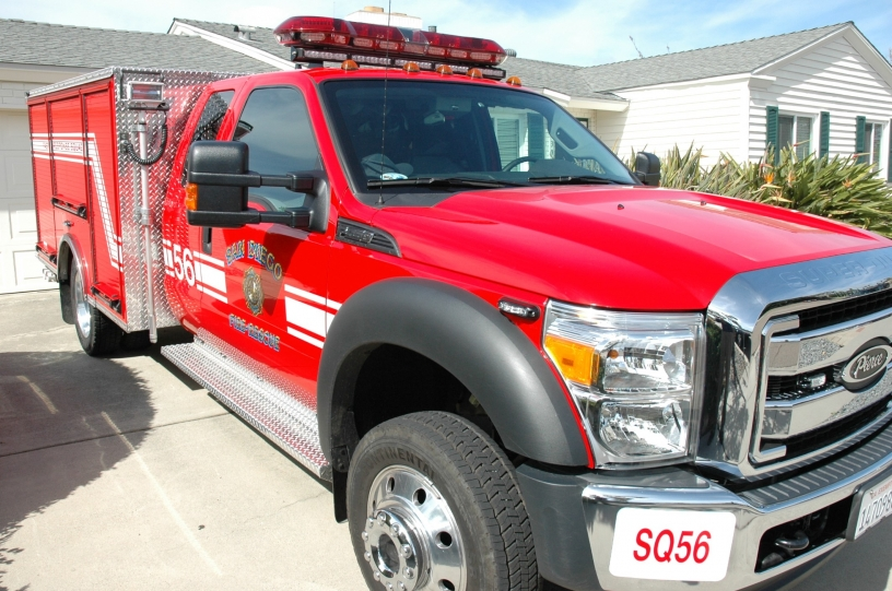 Fast Response Squad | Fire-Rescue Department | City of San