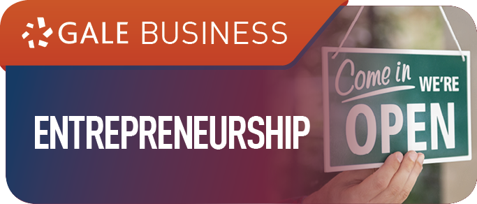 Gale Entrepreneurship graphic