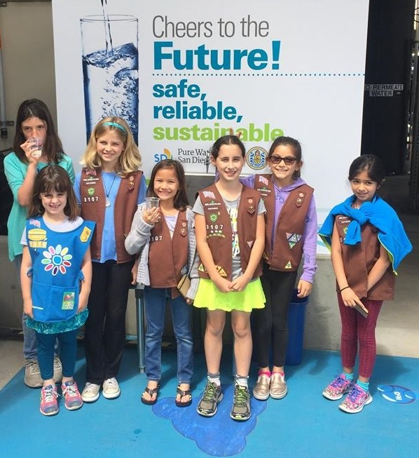 Girl Scout Pure Water Tour