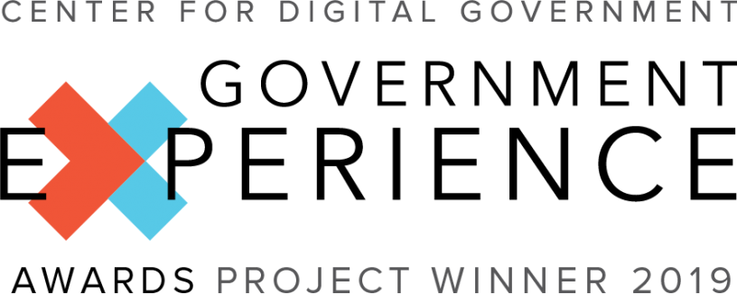 logo of CDG government experience award