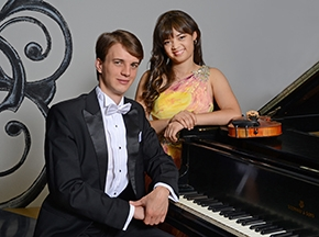 Annelle Gregory, violin and Alexander Sinchuk, piano