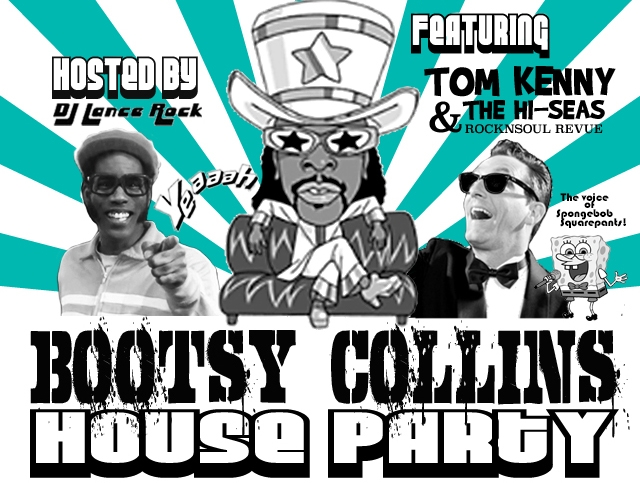Bootsy Collins House Party graphic