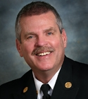 Photo of Fire Chief Fennessy