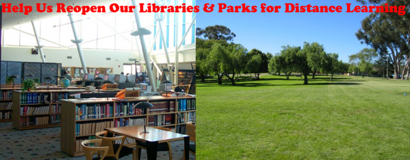 Reopen Libraries and Parks