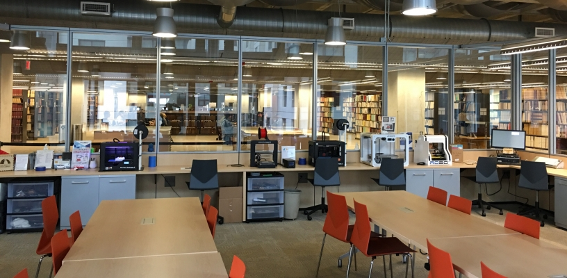San Diego Central Library Innovation Lab Workspace