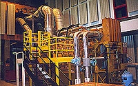 Photo of Gas Utilization Facility Generator