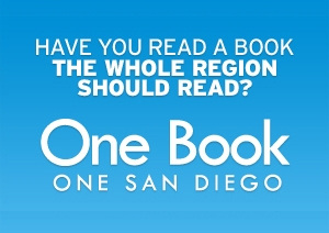 One Book One San Diego button
