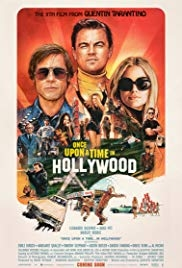 Once Upon a Time in… Hollywood movie poster