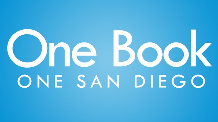 One Book One San Diego logo.