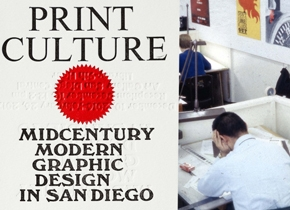 Print Culture: Midcentury Modern Graphic Design in San Diego