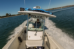 Photo of police boat