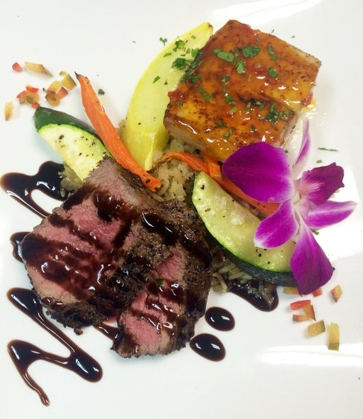 Picture of appetizers.