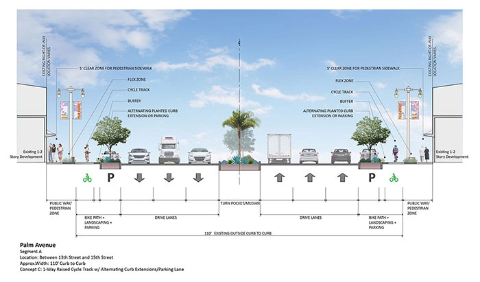 Photo of Palm Avenue Rendering