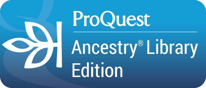 ProQuest Ancestry Library Edition button graphic