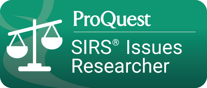 ProQuest SIRS Issues Researcher Database button