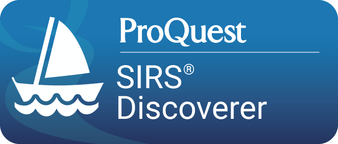 ProQuest SIRS Discoverer Database button