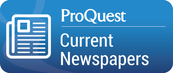 ProQuest US Newsstream database button graphic