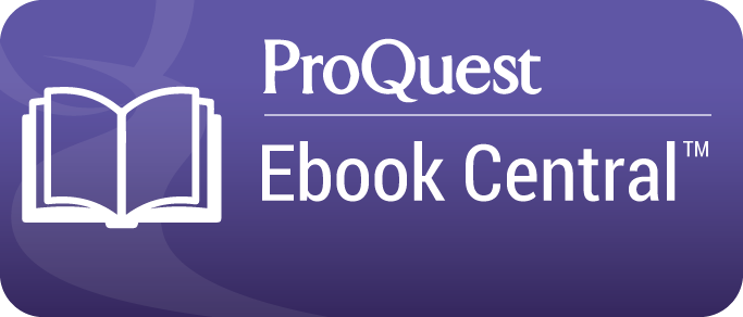 ProQuest Ebook Central database button graphic