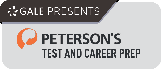 Gale Presents: Peterson's Test and Career Prep.