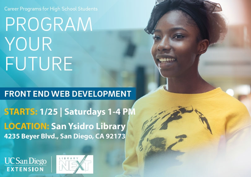 Program Your Future San Ysidro Library flyer