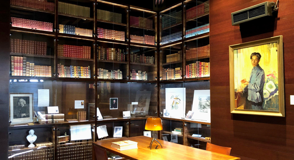 Image of the Rare Book Room at the San Diego Public Library