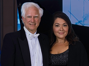 Kindra Scharich, mezzo-soprano and George Fee, piano