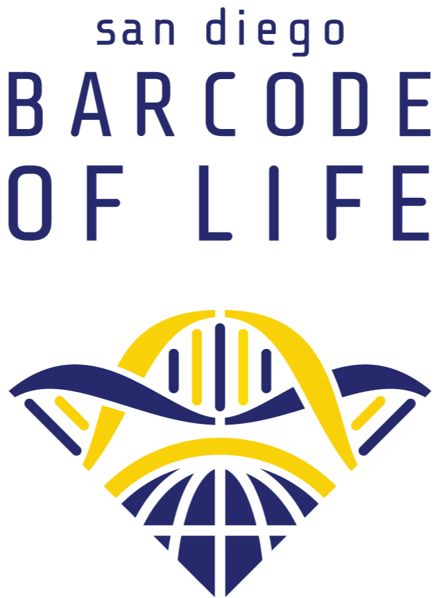 San Diego Barcode of Life logo