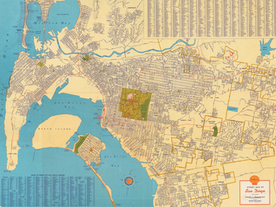 Image of San Diego Map