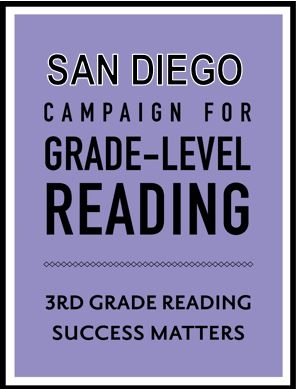 San Diego Campaign for Grade-Level Reading logo.