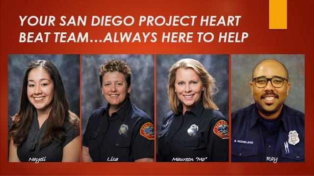 photo of the San Diego Project Heartbeat Team