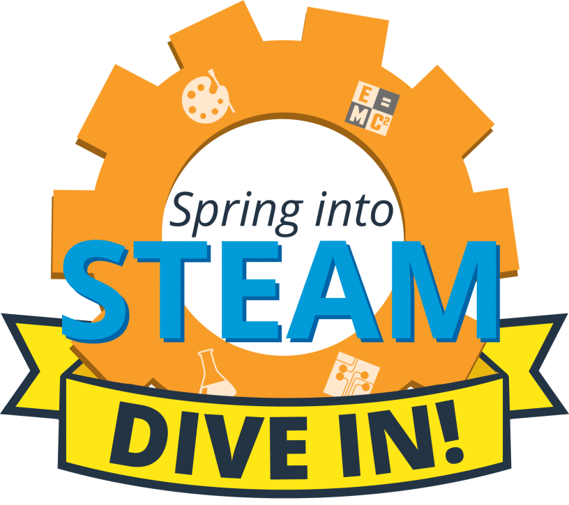 Spring into Steam Dive In logo