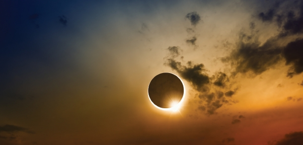 Image of a solar eclipse.