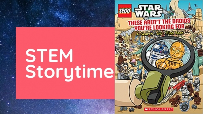 STEM storytime graphic