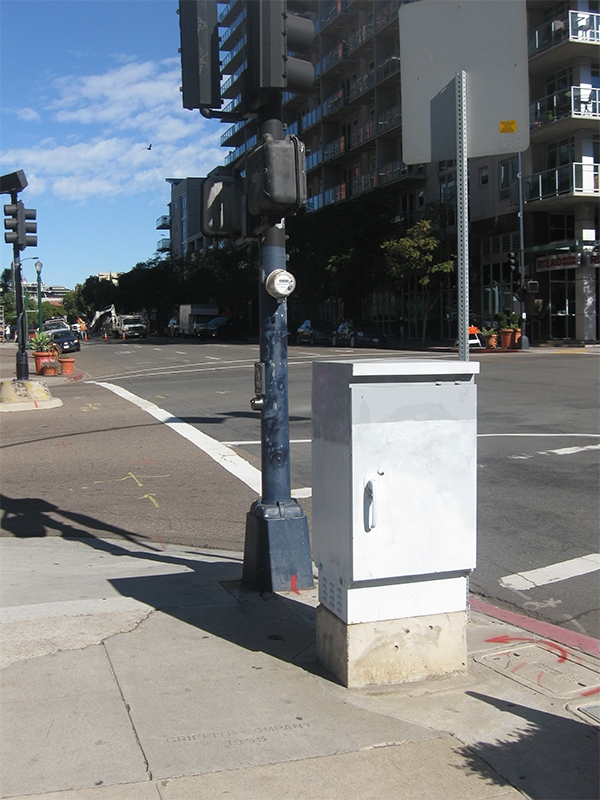 Photo of Type 336 Traffic Signal Cabinet
