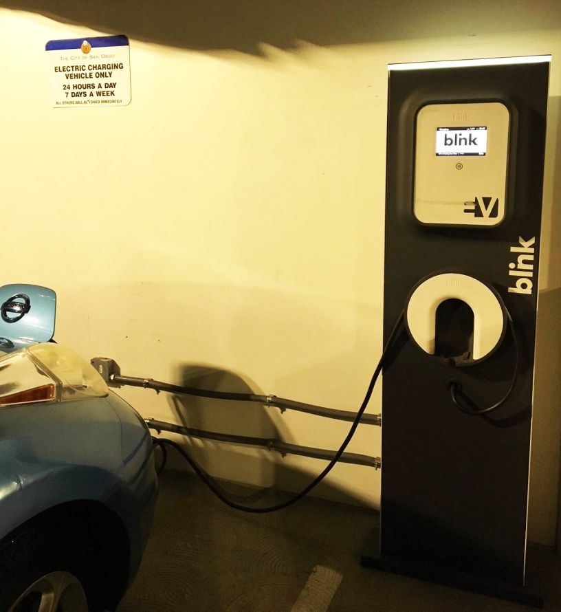 Central Library EV Charging Station