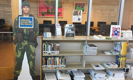 Veteran's Resource Center at the Mission Valley Library