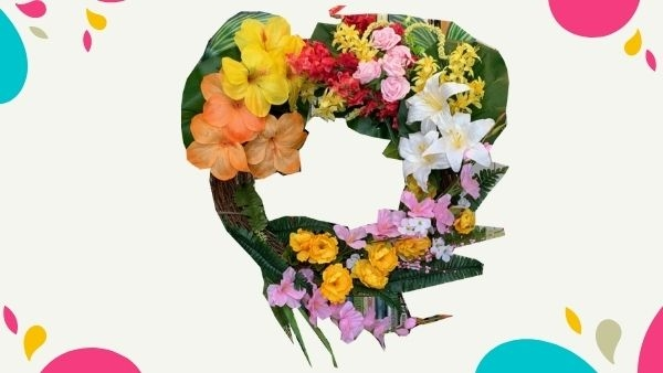 Image of a flower wreath