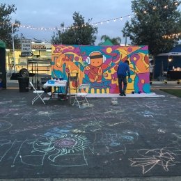 Placemaking Chalk Art