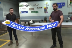 Trevor Hoffman Way Street Sign