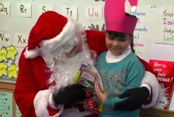 Mayor Visits Burbank Elementary for Holiday Tradition