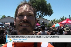 Mark Hamill Drive Dedication