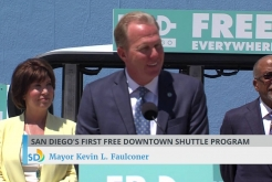 """Free Ride Everywhere Downtown"" Shuttle Program"