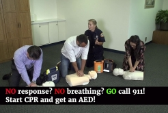 No, No, Go! CPR and AED PSA