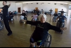 Wheelchair Dancers Take a Spin