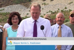 San Vicente Reservoir Marina Re-Opens